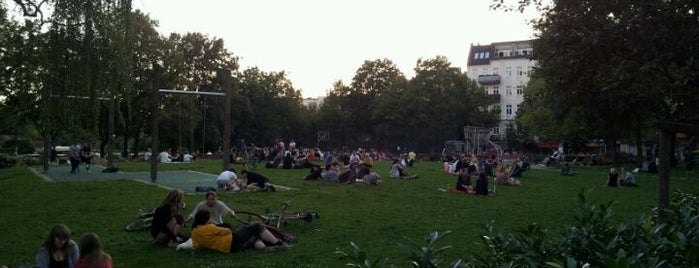 Annemirl-Bauer-Platz is one of Best sport places in Berlin.