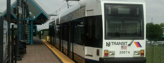 NJT - West Side Avenue Light Rail Station is one of New Jersey Transit Train Stations I Have Been To.