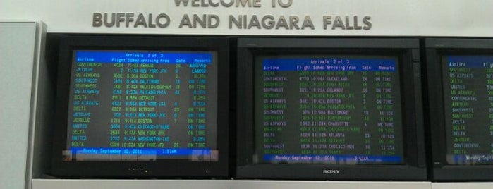 Buffalo Niagara International Airport (BUF) is one of Airports in US, Canada, Mexico and South America.