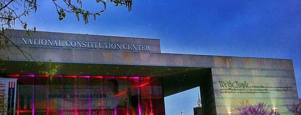 National Constitution Center is one of Visiting Philadelphia.