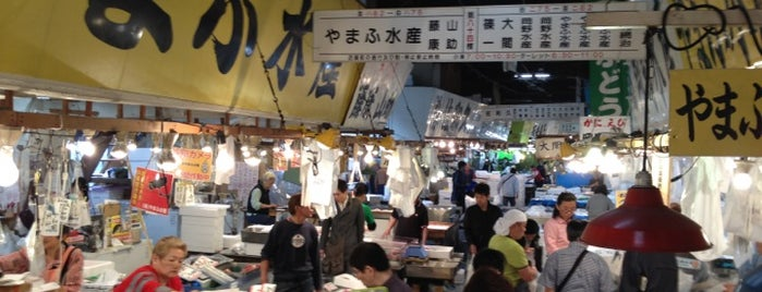 Tsukiji Market is one of I Want Somewhere: Sights To See & Things To Do.