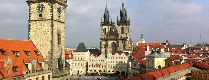 Terasa U Prince is one of The 15 Best Places with a Rooftop in Prague.