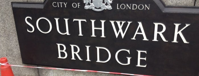 Southwark Bridge is one of zeus.