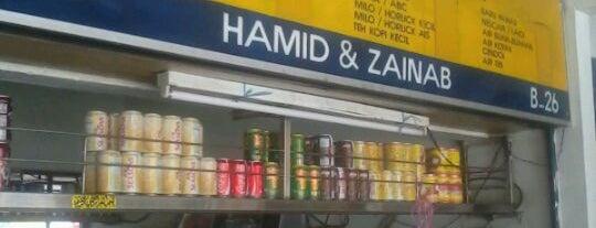 Hamid & Zainab Mee Rebus medan selera is one of Makan @ KL #1.