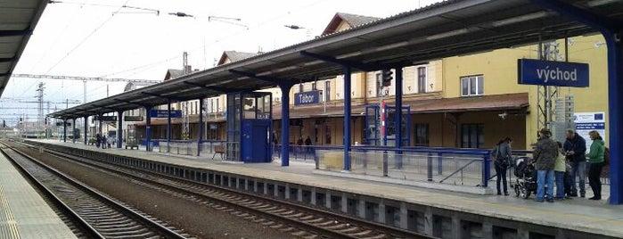 Železniční stanice Tábor is one of můj seznam míst.