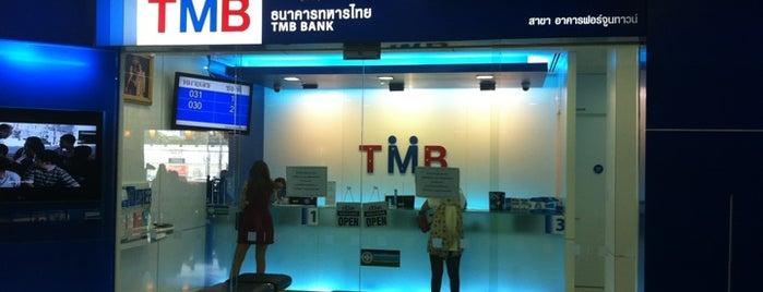 ธนาคารทหารไทย (TMB) is one of Work places.