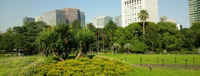 Hibiya Park is one of Tokyo as a local.