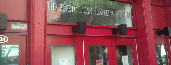 Puerto Rican Traveling Theatre is one of Top 10 favorites places in NY.