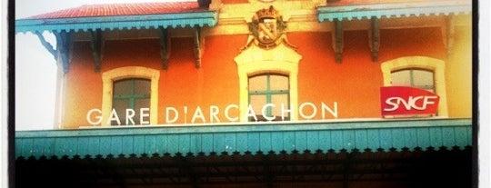 Gare SNCF d'Arcachon is one of Mayor au moins une fois.