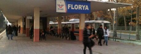 Florya Tren İstasyonu is one of Sirkeci - Halkalı Banliyö Tren Hattı.
