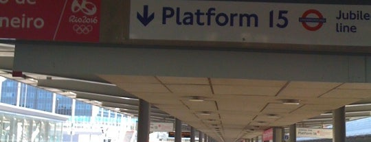 Platform 15 is one of Railway stations I've been to.