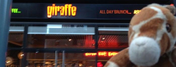 Giraffe is one of Give Me Gluten Free.