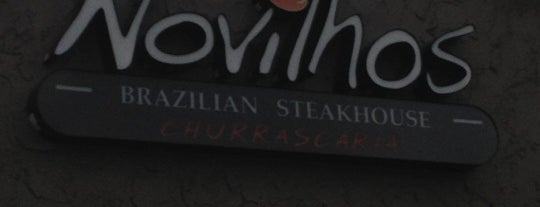 Novilhos Brazilian SteakHouse is one of The 15 Best Fancy Places in Bellevue.