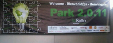 Park 2.0.11 - La Salle Technova Barcelona is one of Our venues.