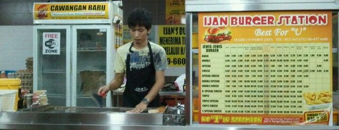 Ijan Burger Station is one of Seremban Best Foods.