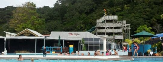 Waiwera Thermal Spa Resort is one of Been there.