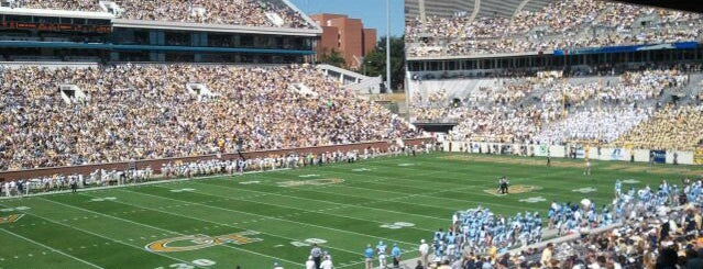 Bobby Dodd Stadium is one of Experience Teams & Venues.