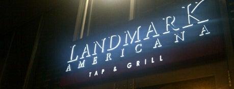 Landmark Americana Tap & Grill is one of Alyssa's University City.
