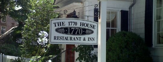 1770 House is one of NY Region Old-Timey Bars, Cafes, and Restaurants.