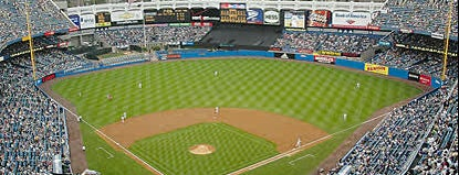 Yankee Stadium is one of Baseball.