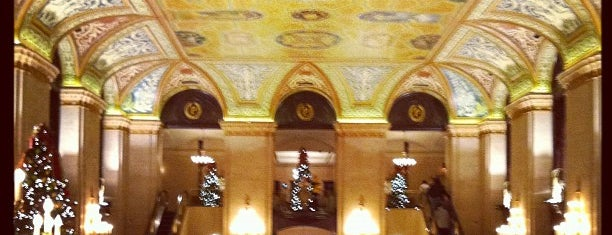 Palmer House - A Hilton Hotel is one of favorites.