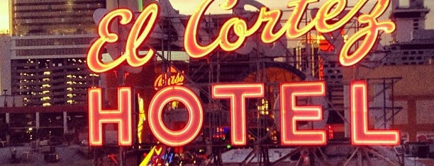 El Cortez Hotel & Casino is one of Vegas.
