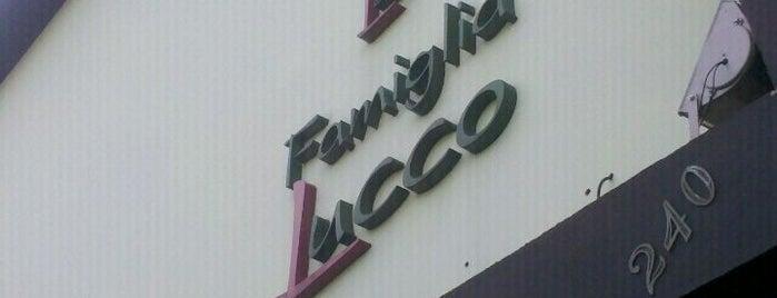 Pizzaria Famiglia Lucco is one of Italiana.