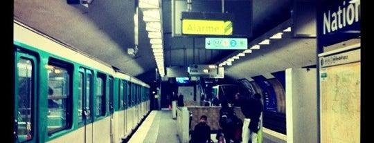 Métro Nation [1,2,6,9] is one of Stations de metro a Paris.