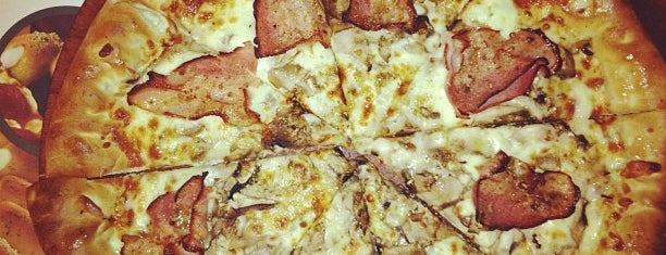 Pizza Hut is one of WiFi keys @ Thessaloniki (East).
