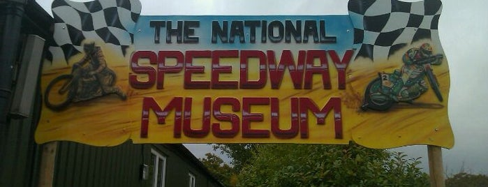 The National Speedway Museum is one of Curious cabinets.
