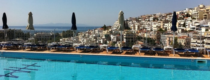 Mistral Pool & Roof Garden is one of Must-visit Great Outdoors in Piraeus.