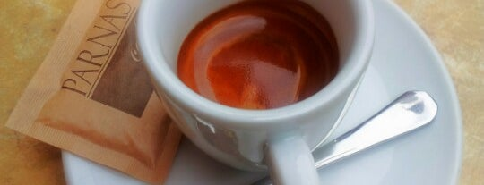 Parnas Caffe is one of Týden kávy 2012.