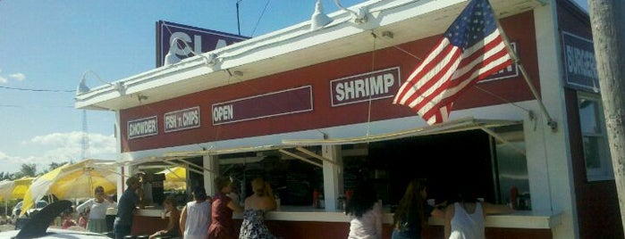 The Clam Bar is one of Food thats worth the effort.