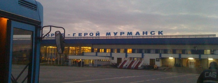 Murmansk International Airport (MMK) is one of Airports - worldwide.