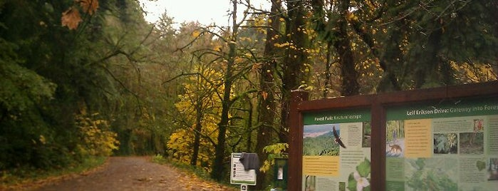 Forest Park - Thurman Gate is one of PDX Hot Spots!.