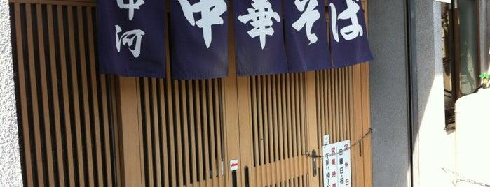 中河 is one of Ramen shop in Morioka.