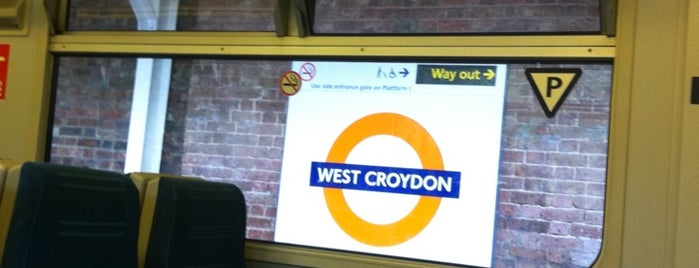 West Croydon Railway Station (WCY) is one of Railway Stations in UK.