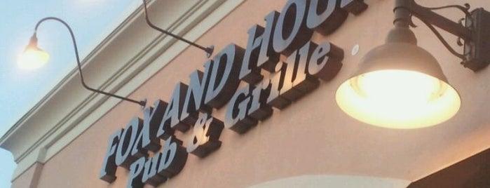 Fox & Hound is one of Favorite Restaurants.