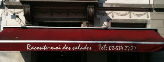 Raconte-Moi des Salades is one of Some good spots in Bx..