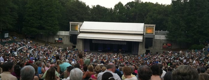 Chastain Park Amphitheater is one of Places I Visit : Atlanta.
