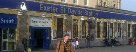 Exeter St Davids Railway Station (EXD) is one of Railway Stations in UK.