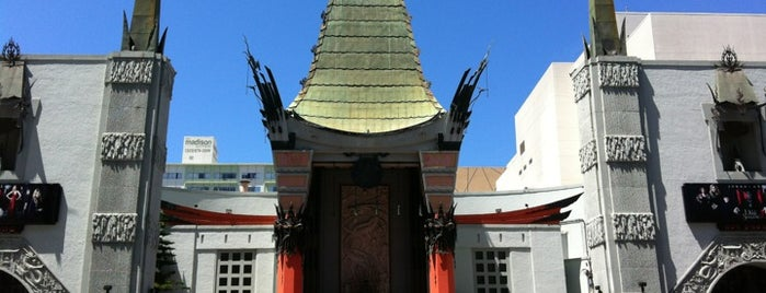 TCL Chinese Theatre is one of LA/SoCal.