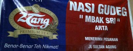 "Nasi Gudeg ""Mbak Sri"" Artha is one of Pekalongan World of Batik."