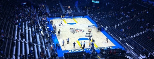 Chesapeake Energy Arena is one of Great Sport Locations Across United States.