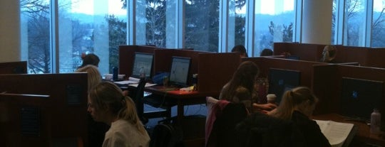 Health Sciences Library is one of Study Spots.