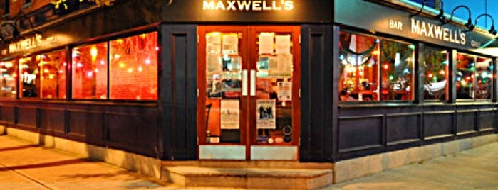 Maxwell's is one of Music Venues.