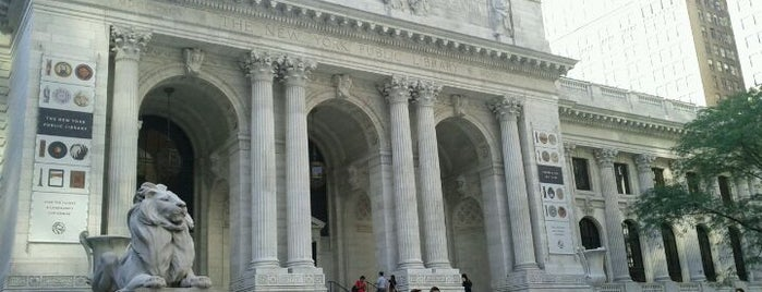 New York Public Library is one of New York City.