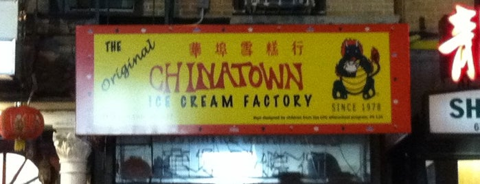 The Original Chinatown Ice Cream Factory 華埠雪糕行 is one of Dessert Stops.