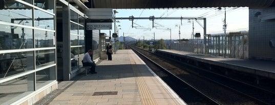 "Edinburgh Park Railway Station (EDP) is one of Foursquare needs a ""Subway Hero Badge""."