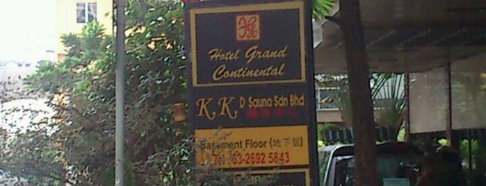 Hotel Grand Continental Kuala Lumpur is one of where to stay!!.